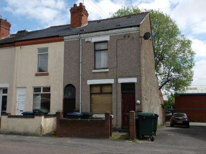 2 Bedrooms Terraced House for sale in Widdrington Road, Radford, Coventry
