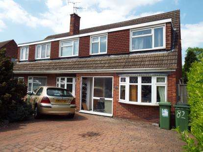 Semi Detached House for sale in Packer Avenue, Leicester Forest East, Leicester, Leicestershire