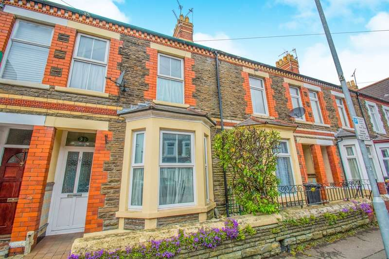 3 Bedrooms Terraced House for sale in Diana Street, Cardiff