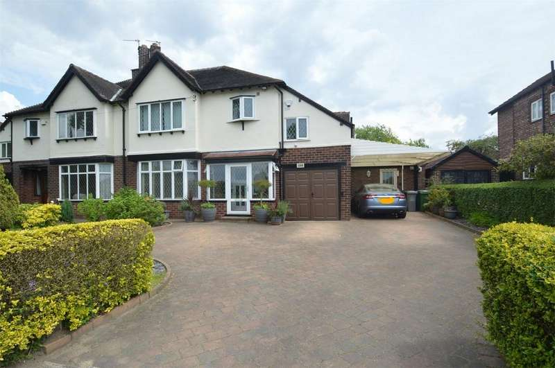 4 Bedrooms Semi Detached House for sale in Harboro Road, SALE, Cheshire