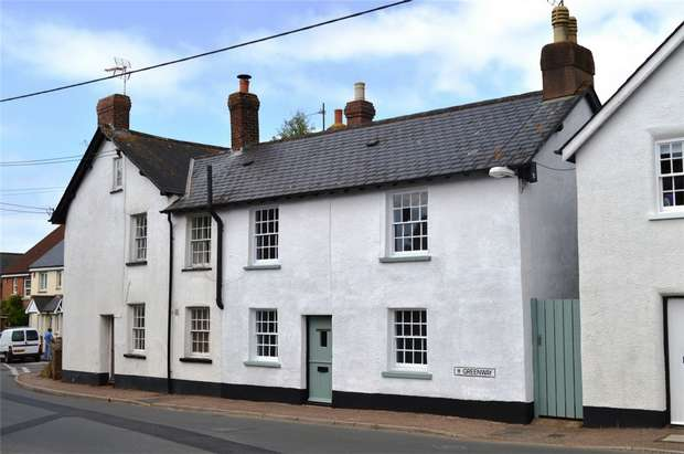 2 Bedrooms End Of Terrace House for sale in 33 Greenway, Woodbury, Exeter, Devon