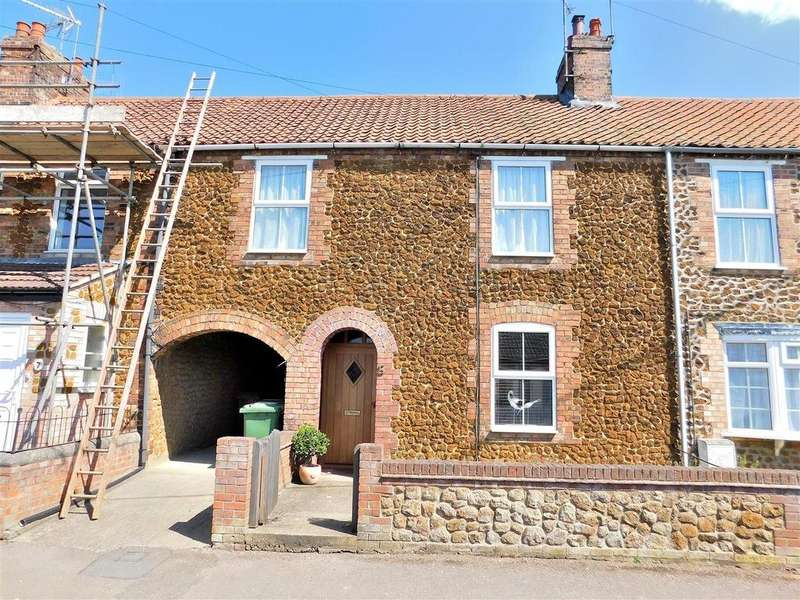3 Bedrooms Terraced House for sale in Caley Street, Heacham, King's Lynn