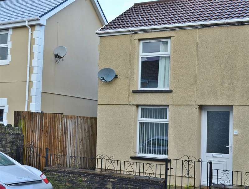 2 Bedrooms End Of Terrace House for sale in High Street, Nelson, TREHARRIS, CF46