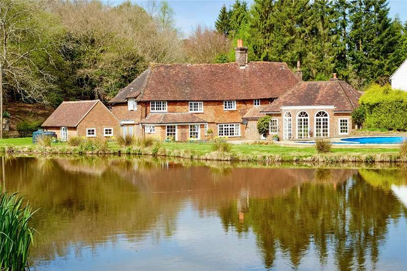 6 Bedrooms Detached House for sale in Newbridge, Colemans Hatch, Hartfield, East Sussex, TN7