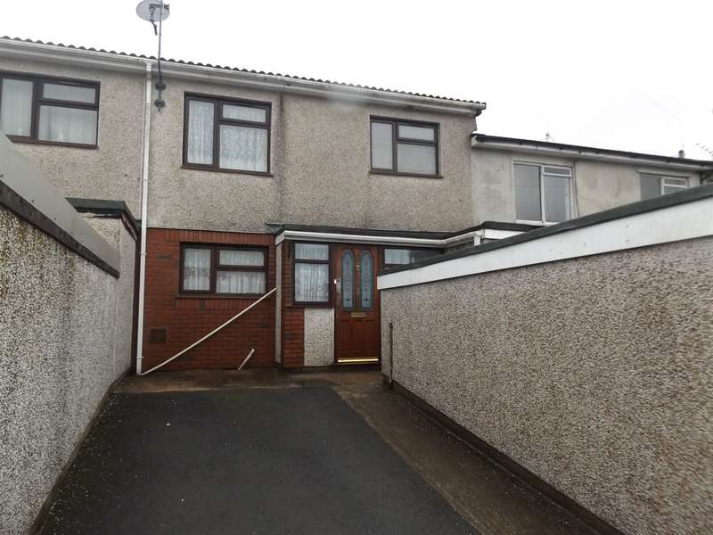 3 Bedrooms Terraced House for sale in Shelley Court, Machen, Caerphilly