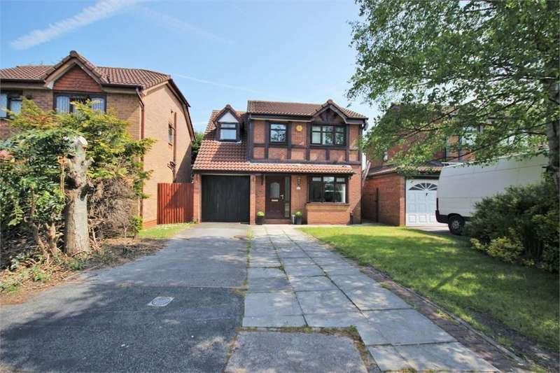 4 Bedrooms Detached House for sale in Flander Close, WIDNES, Cheshire