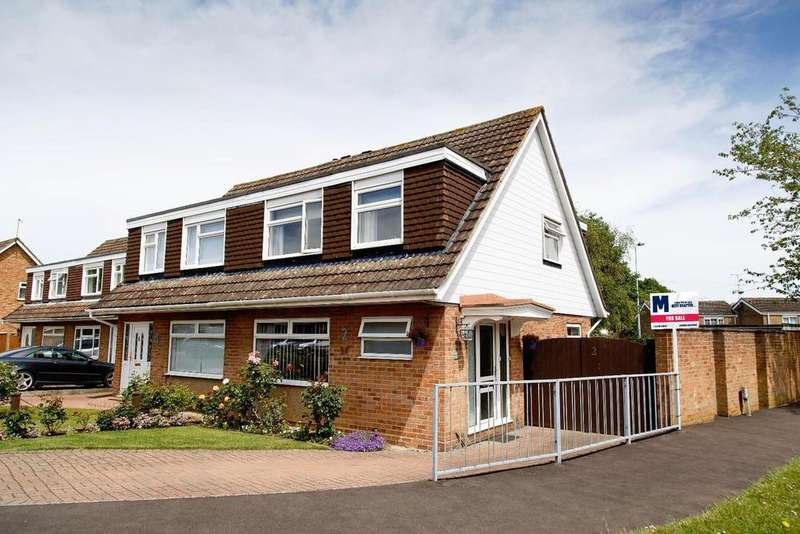 3 Bedrooms Semi Detached House for sale in Eastbourne Avenue, Stevenage