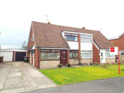 3 Bedrooms Semi Detached House for sale in Sandylands Park, Wistaston Green, Crewe, Cheshire