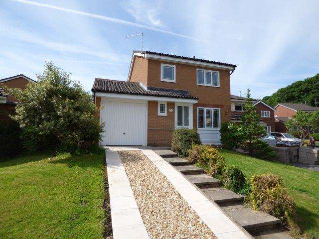 3 Bedrooms Detached House for sale in Berwick Way, Heysham, LA3 2UB