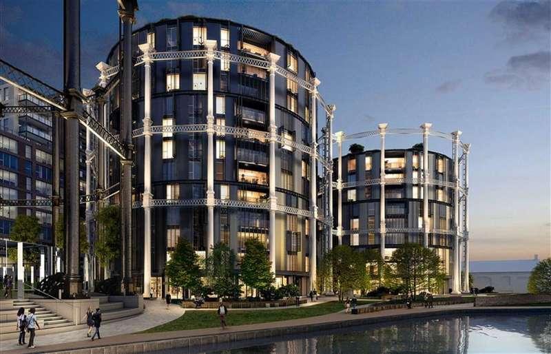 2 Bedrooms Property for sale in Gasholders, London, N1C