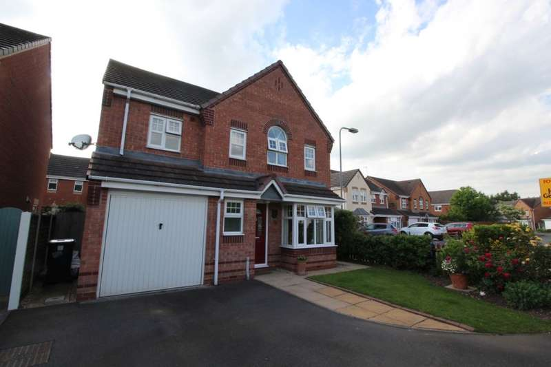 4 Bedrooms Detached House for sale in Amberlands, Stretton, Burton-On-Trent, DE13