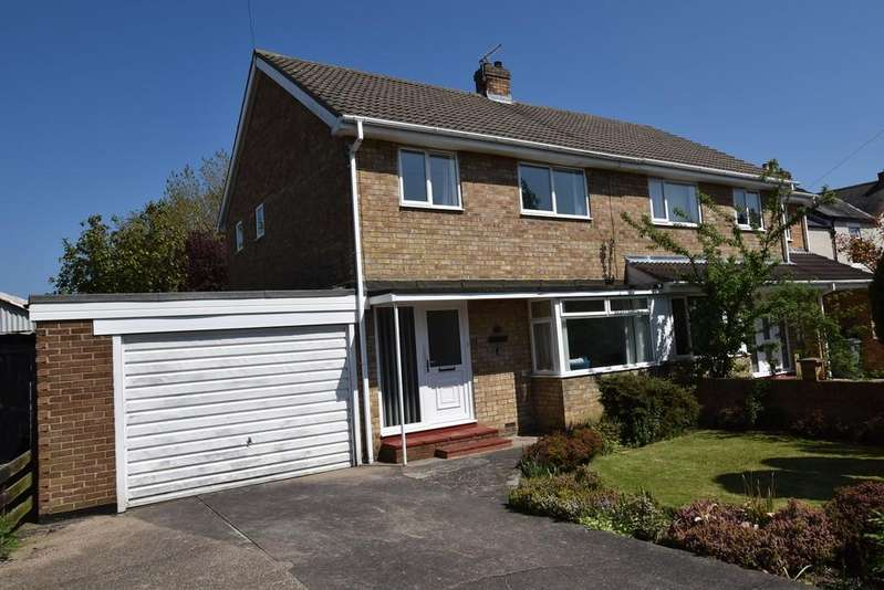 3 Bedrooms Semi Detached House for sale in Bywell Road, Cleadon
