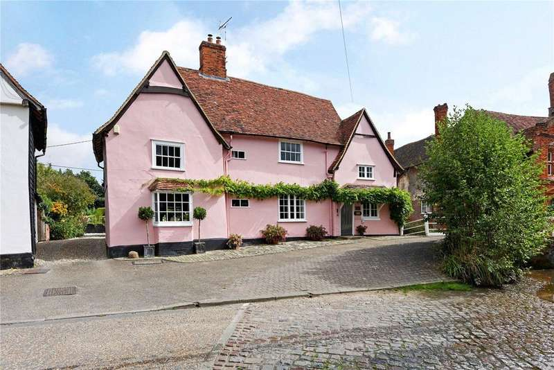 5 Bedrooms Unique Property for sale in The Street, Kersey, Ipswich, IP7
