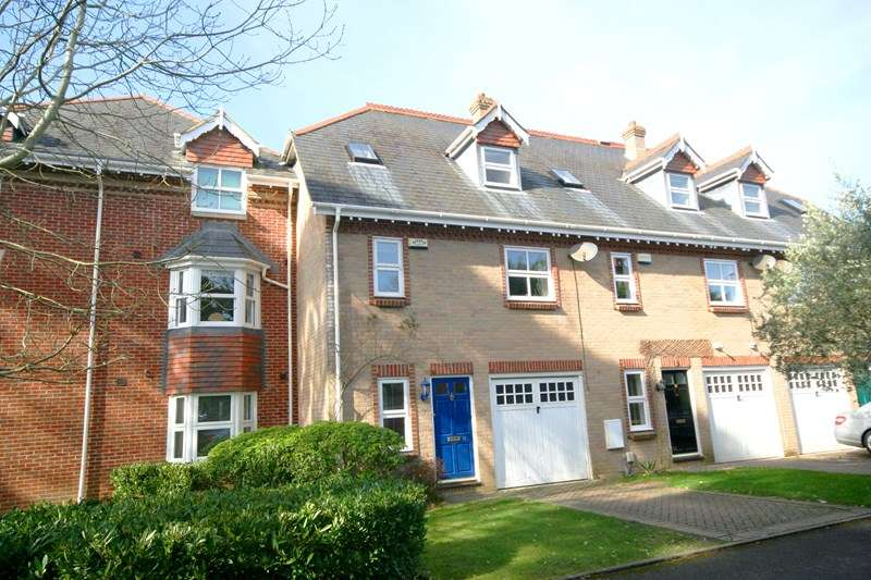 4 Bedrooms Town House for sale in Braidley Road, Meyrick Park, Bournemouth, Dorset