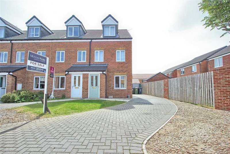 3 Bedrooms End Of Terrace House for sale in Saint Albans Road, Redcar