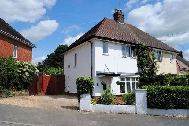 2 Bedrooms Semi Detached House for sale in Whiston Road, Kingsthorpe, Northampton NN2 7RR