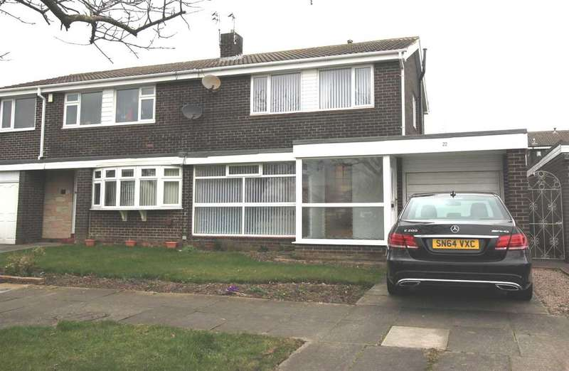3 Bedrooms Semi Detached House for sale in Cramond Way, Collingwood Grange, Cramlington