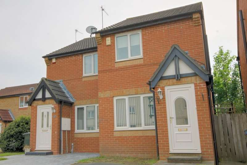2 Bedrooms Semi Detached House for sale in Ambergate Close, Newbiggin Hall, Newcastle Upon Tyne, NE5