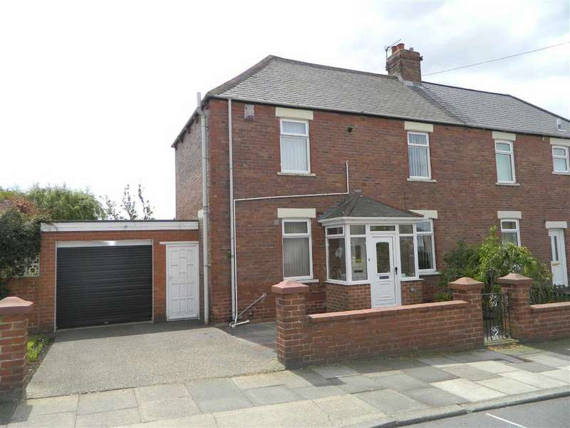 3 Bedrooms Semi Detached House for sale in Lansdowne Terrace West, North Shields, Tyne And Wear, NE29