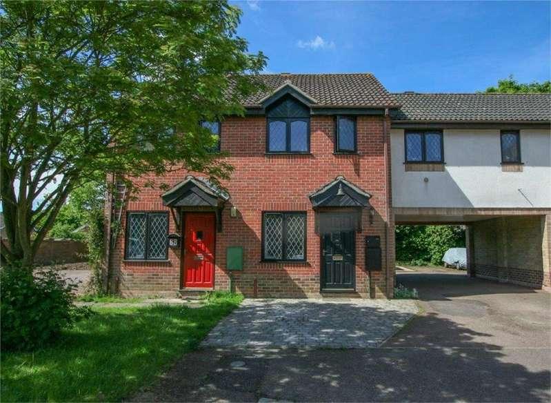 2 Bedrooms Terraced House for sale in Margaret Reeve Close, Wymondham, Norfolk