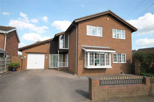 4 Bedrooms Detached House for sale in Dover Crescent, Bedford