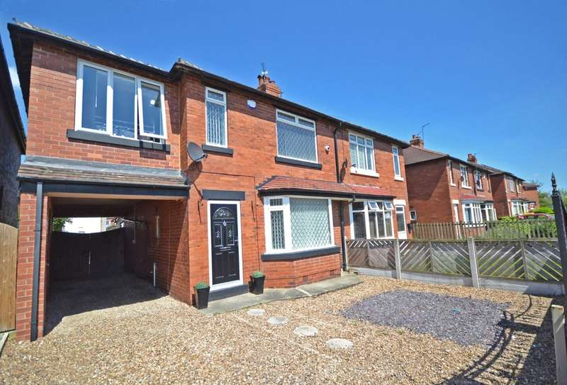 4 Bedrooms Semi Detached House for sale in Johns Avenue, Lofthouse, Wakefield