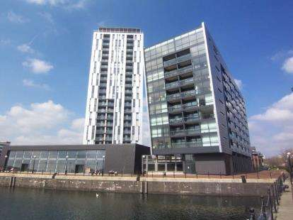 1 Bedroom Flat for sale in Millennium Point, 254 The Quays, Salford, Greater Manchester