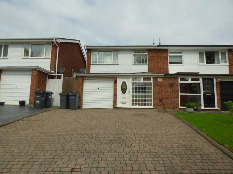 3 Bedrooms Semi Detached House for sale in Ingham Way, Harborne, Birmingham, B17 8SW