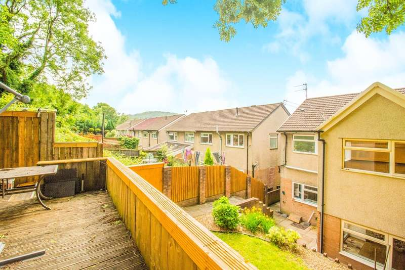 3 Bedrooms Semi Detached House for sale in Abbey Close, Taffs Well, Cardiff