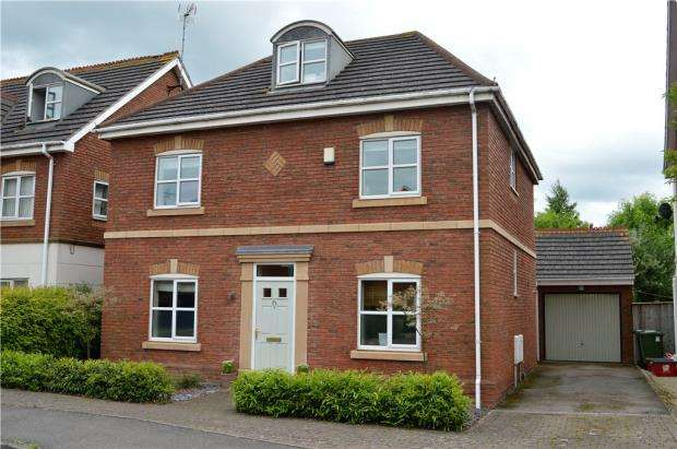 4 Bedrooms Detached House for sale in Juliet Drive, Heathcote, Warwick