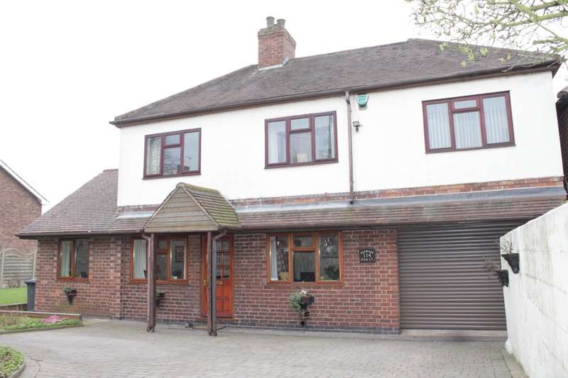 5 Bedrooms Detached House for sale in ASHBY RD, BURTON ON TRENT, Staffordshire, DE15