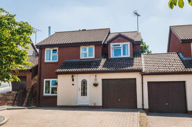 4 Bedrooms Link Detached House for sale in James Orchard, Berkeley, Gloucestershire, GL13