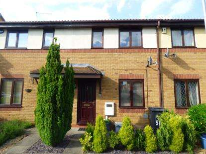 2 Bedrooms Terraced House for sale in Muncaster Gardens, East Hunsbury, Northampton, Northamptonshire