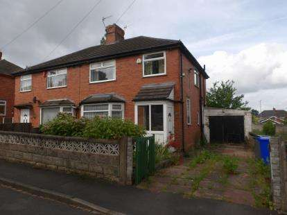 3 Bedrooms Semi Detached House for sale in Elmsmere Avenue, Stoke-On-Trent, Staffordshire