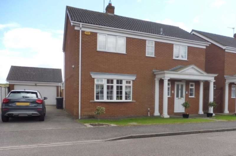 4 Bedrooms Detached House for sale in Willow Springs, Cranfield, Bedford