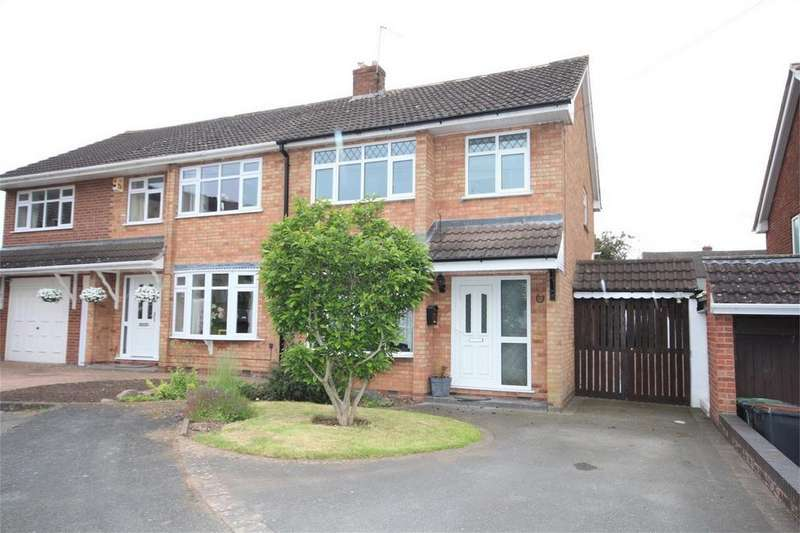 3 Bedrooms Semi Detached House for sale in Berwyn Way, Church Farm, Nuneaton, Warwickshire