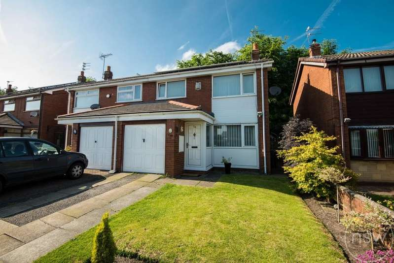 3 Bedrooms Semi Detached House for sale in Thurcroft Drive, Skelmersdale