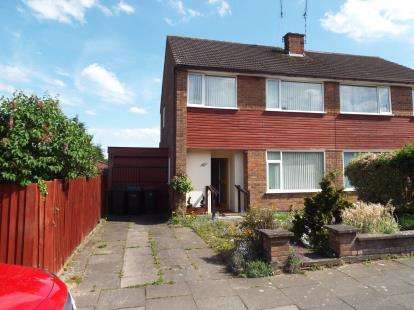 3 Bedrooms Semi Detached House for sale in Wellesbourne Road, Coventry, West Midlands