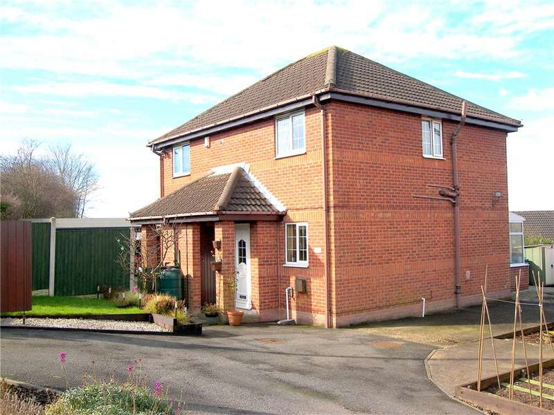 2 Bedrooms Semi Detached House for sale in Alfreton Road, Blackwell, Alfreton, Derbyshire, DE55