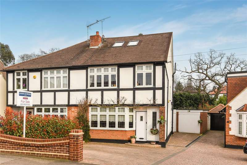 4 Bedrooms Semi Detached House for sale in Brooklyn Avenue, Loughton, Essex, IG10