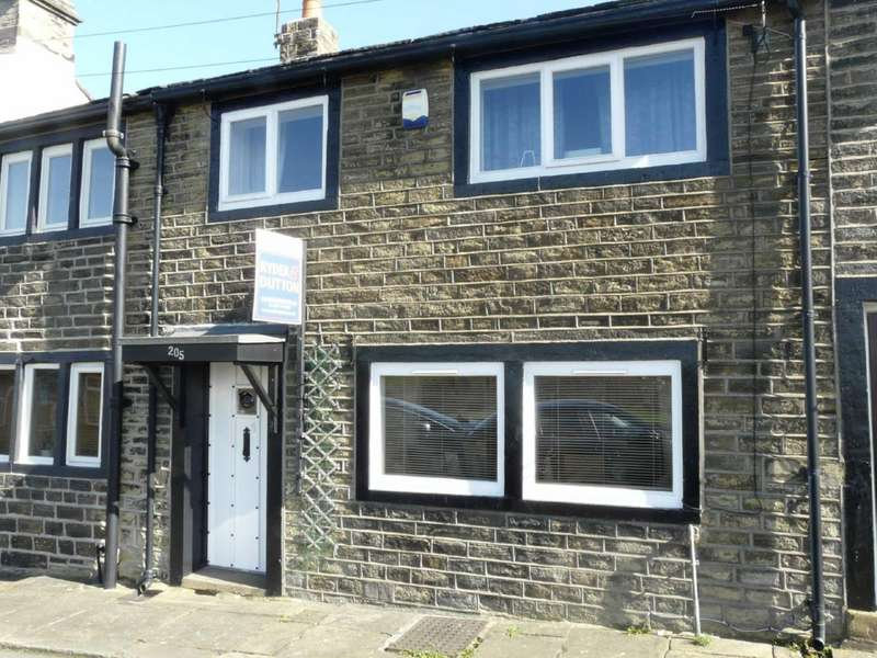 2 Bedrooms Terraced House for sale in Lane Top, Linthwaite, Huddersfield, West Yorkshire, HD7