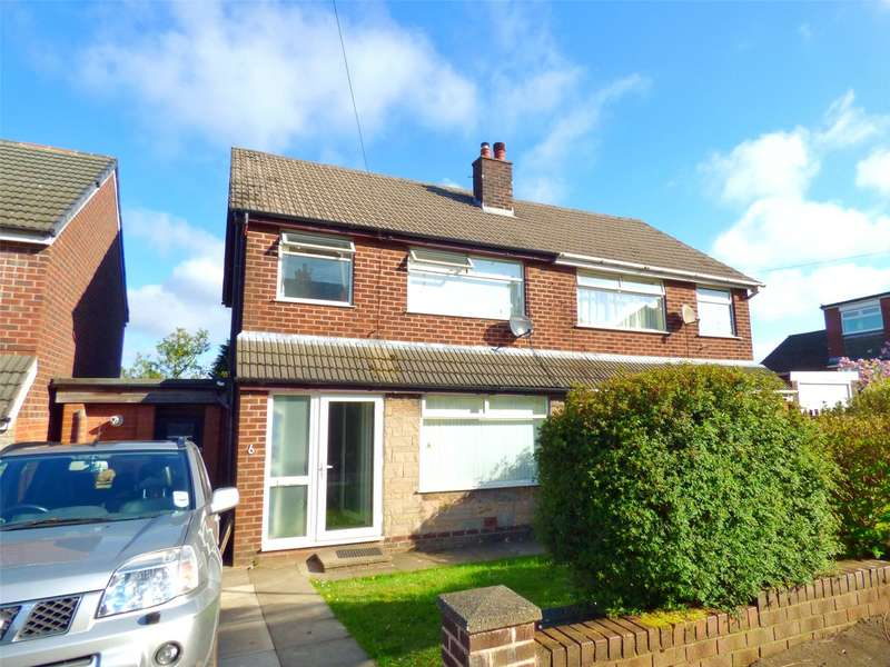 3 Bedrooms Semi Detached House for sale in Greenside Avenue, Moorside, Oldham, OL4
