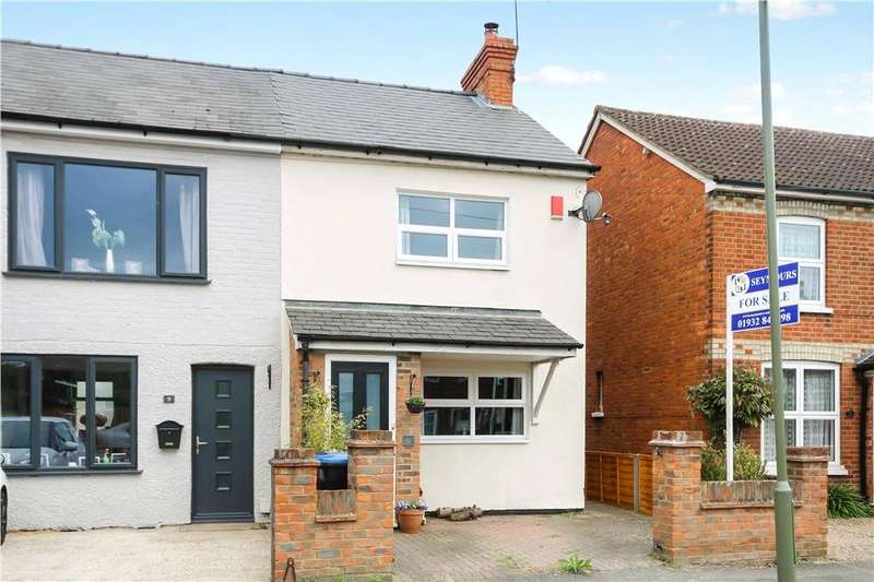 3 Bedrooms Semi Detached House for sale in Mead Lane, Chertsey, Surrey, KT16
