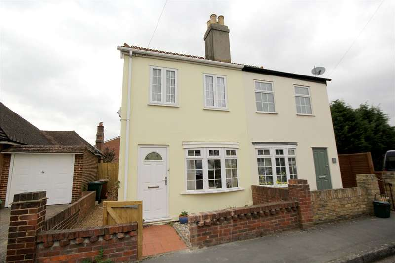 2 Bedrooms Semi Detached House for sale in Sheep Walk, Shepperton, Surrey, TW17
