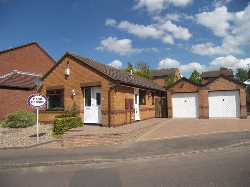 3 Bedrooms Detached Bungalow for sale in Fiskerton Way, Oakwood, Derby, DE21