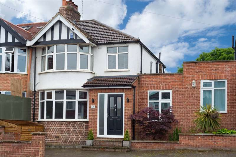 3 Bedrooms Semi Detached House for sale in Rossall Crescent, London, NW10