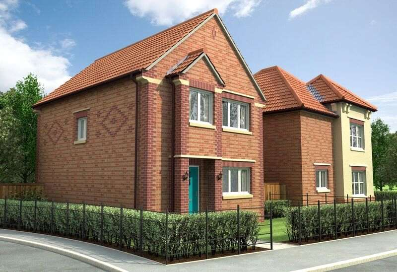3 Bedrooms Detached House for sale in Winding Way, Westpark Garden Village, Darlington, DL2