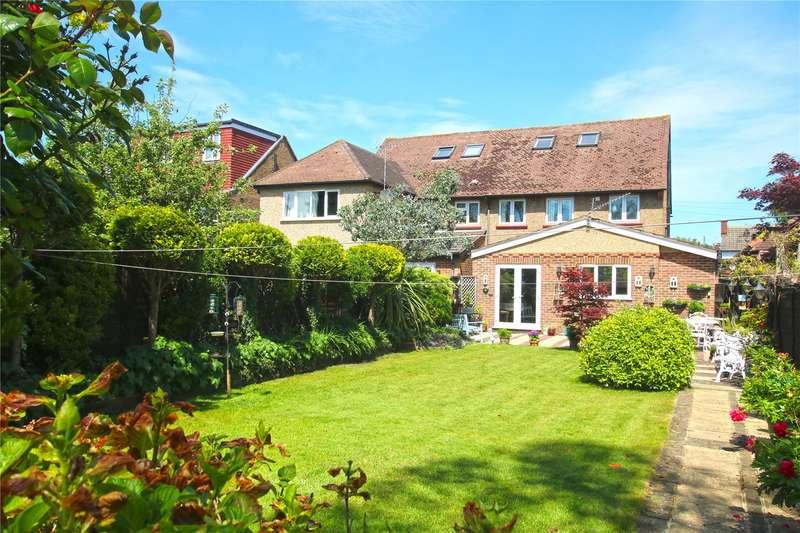 3 Bedrooms Semi Detached House for sale in Burwood Road, Hersham, Walton-on-Thames, Surrey, KT12