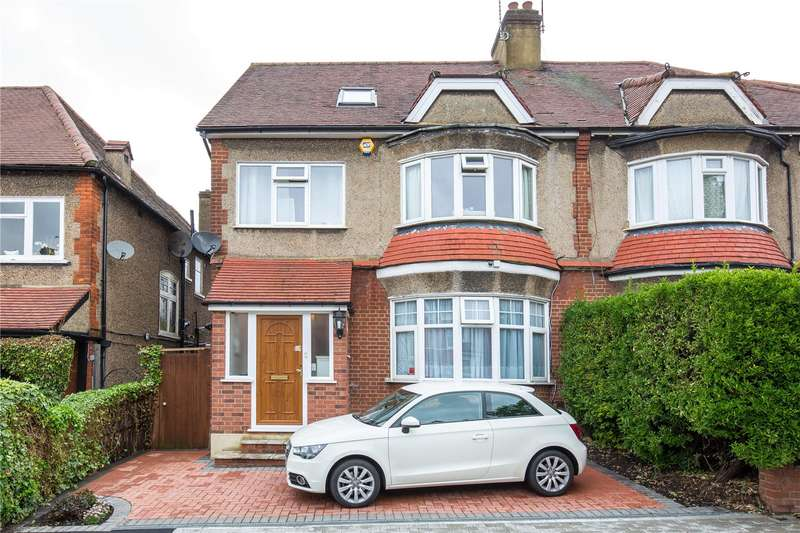 5 Bedrooms Semi Detached House for sale in Holden Road, Woodside Park, London, N12