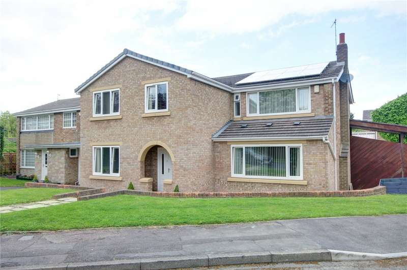 5 Bedrooms Detached House for sale in Whitwell Acres, High Shincliffe, Durham, DH1